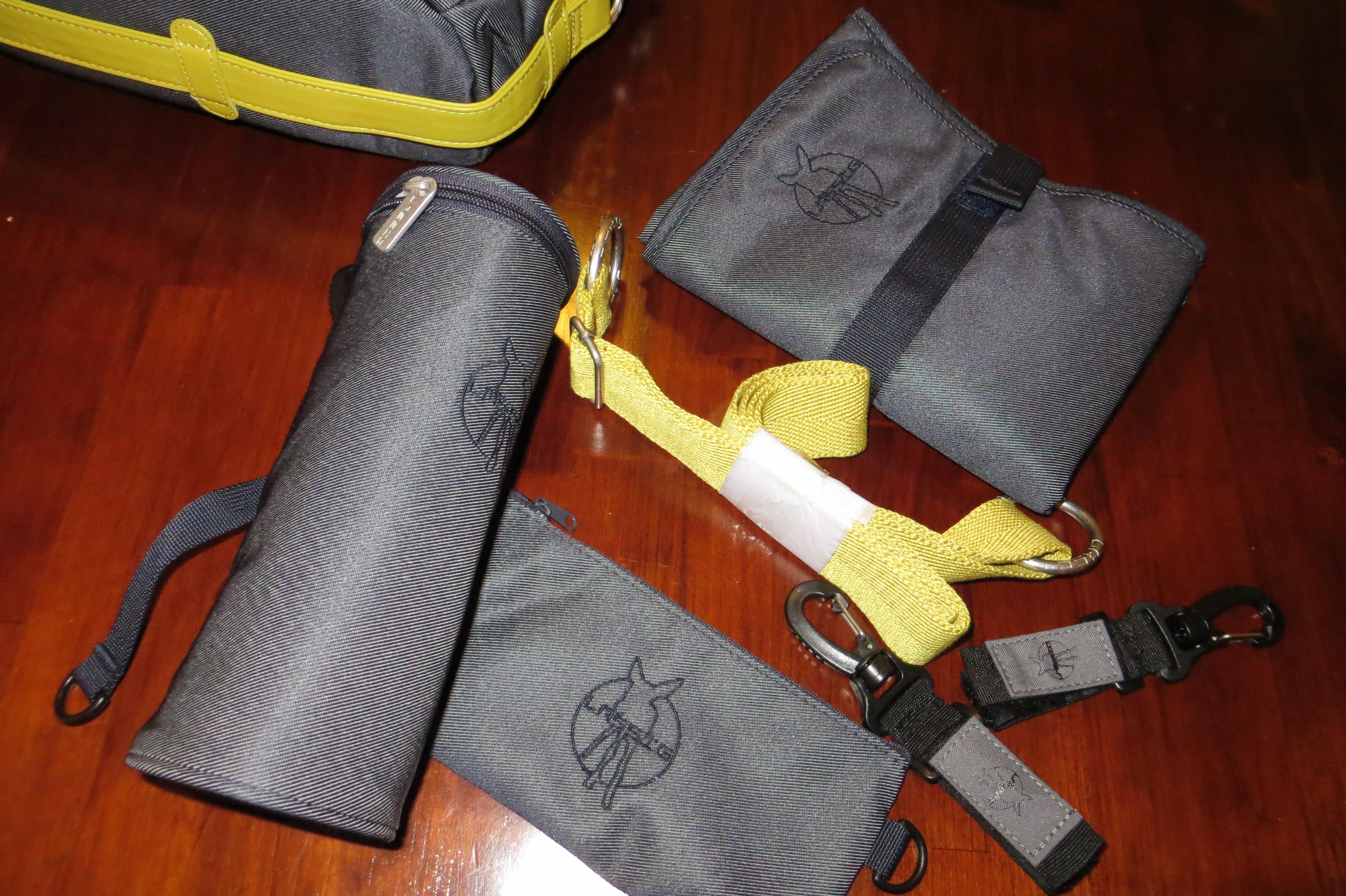 Lässig Wickeltasche Green Label Neckline Bag